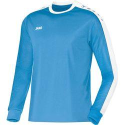 Jako Striker Voetbalshirt Lange Mouw - Hemelsblauw / Wit