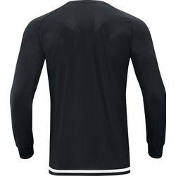 Voorvertoning: Jako Striker 2.0 Voetbalshirt Lange Mouw Kinderen - Zwart / Wit