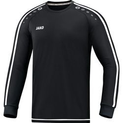 Jako Striker 2.0 Voetbalshirt Lange Mouw - Zwart / Wit