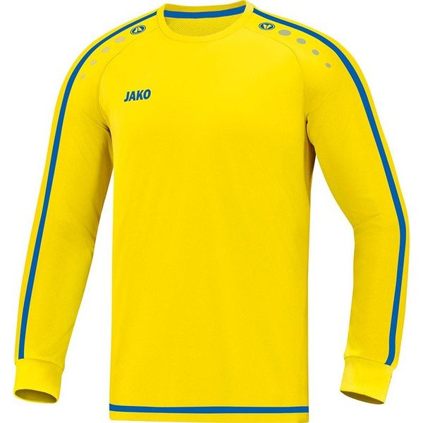 Jako Striker 2.0 Voetbalshirt Lange Mouw - Citroen / Royal