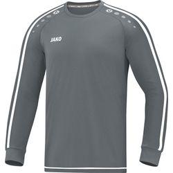 Jako Striker 2.0 Voetbalshirt Lange Mouw Heren - Steengrijs / Wit