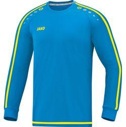 Jako Striker 2.0 Voetbalshirt Lange Mouw Heren - Jako Blauw / Fluogeel