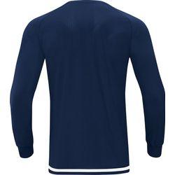 Voorvertoning: Jako Striker 2.0 Voetbalshirt Lange Mouw Kinderen - Marine / Wit