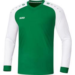Jako Champ 2.0 Voetbalshirt Lange Mouw Heren - Sportgroen / Wit