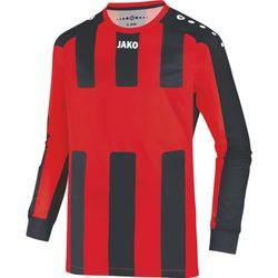 Jako Milan Voetbalshirt Lange Mouw - Rood / Zwart