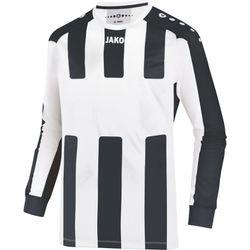 Jako Milan Voetbalshirt Lange Mouw Heren - Wit / Zwart