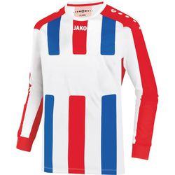 Jako Milan Voetbalshirt Lange Mouw Heren - Wit / Rood / Royal