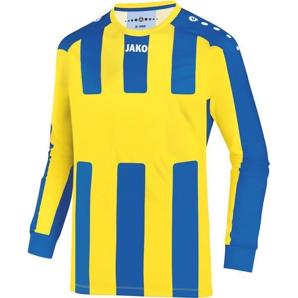 Jako Milan Voetbalshirt Lange Mouw Heren - Citroen / Royal