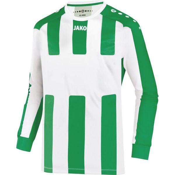 Jako Milan Maillot À Manches Longues Hommes - Blanc / Vert Sport