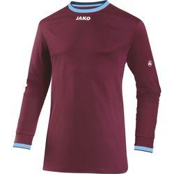 Jako United Voetbalshirt Lange Mouw Heren - Bordeaux / Hemelsblauw / Wit