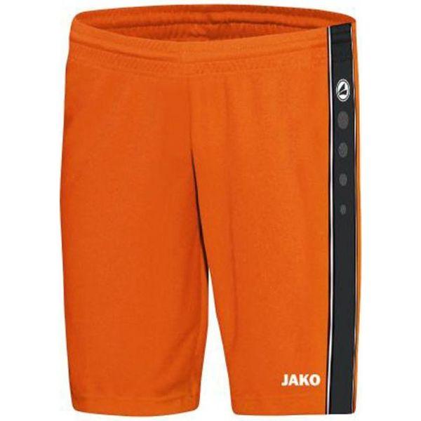 Jako Center Basketbalshort Heren - Fluo Oranje / Zwart