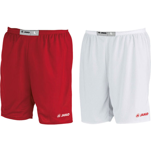 Jako Change Reversible Short Heren - Rood / Wit