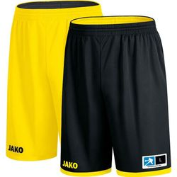 Jako Change 2.0 Reversible Short - Zwart / Citroen