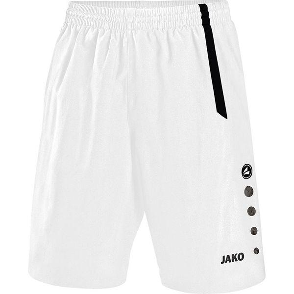 Jako Turin Short Hommes - Blanc / Noir