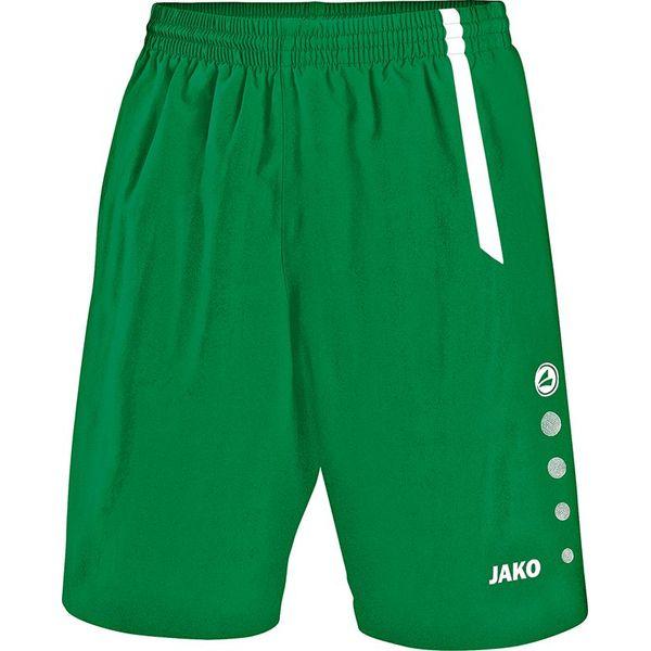 Jako Turin Short Enfants - Vert Sport / Blanc