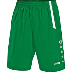 Jako Turin Short Hommes - Vert Sport / Blanc
