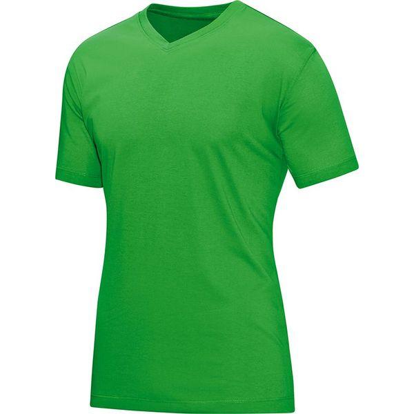 Jako T-Shirt V-Hals Heren - Zachtgroen