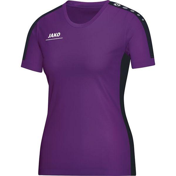 Jako Striker T-Shirt Dames - Paars / Zwart
