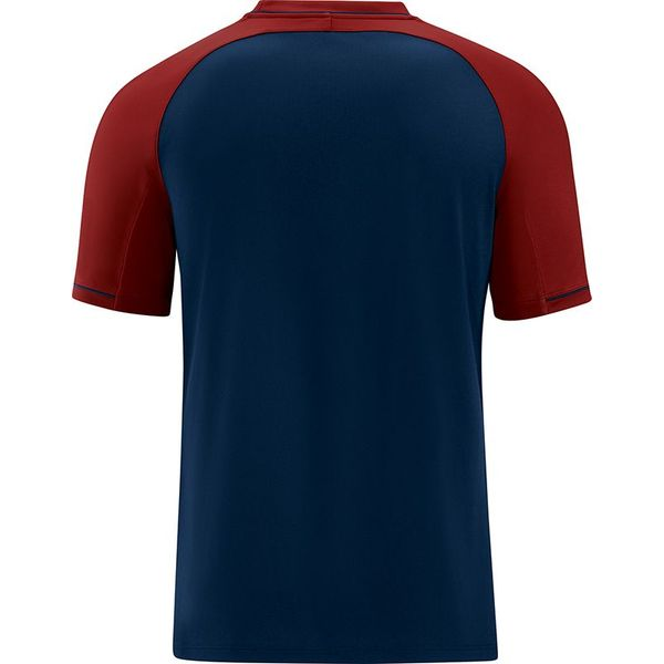 Jako Competition 2.0 T-Shirt Dames - Marine / Donkerrood