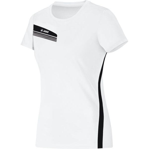 Jako Athletico T-Shirt Dames - Wit / Zwart