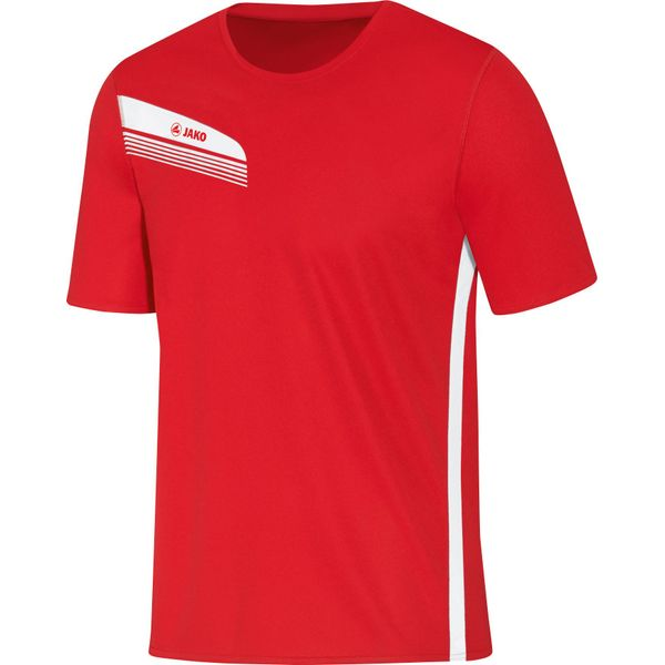 Jako Athletico T-Shirt Heren - Rood / Wit