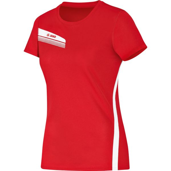 Jako Athletico T-Shirt Dames - Rood / Wit