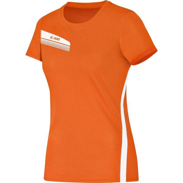 Jako Athletico T-Shirt Dames - Oranje / Wit