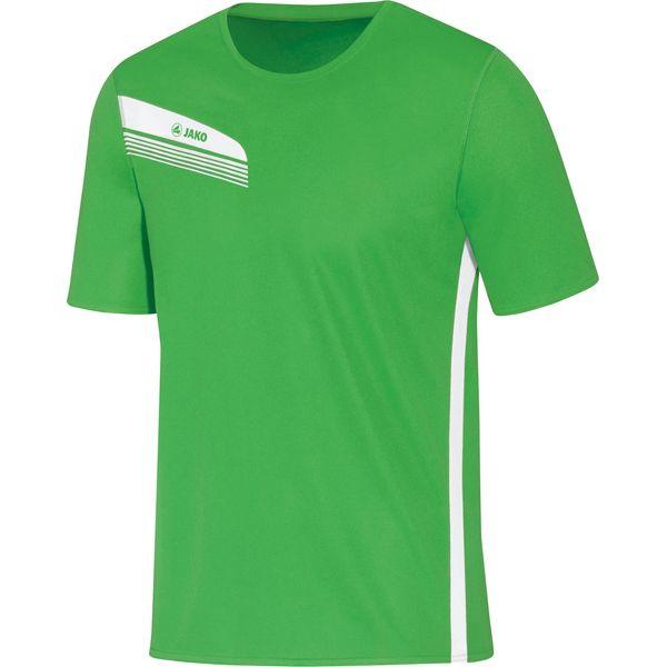 Jako Athletico T-Shirt Heren - Zachtgroen / Wit