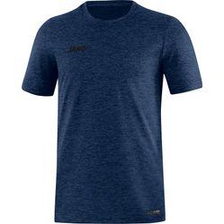 Jako Premium Basics T-Shirt Heren - Marine Gemeleerd