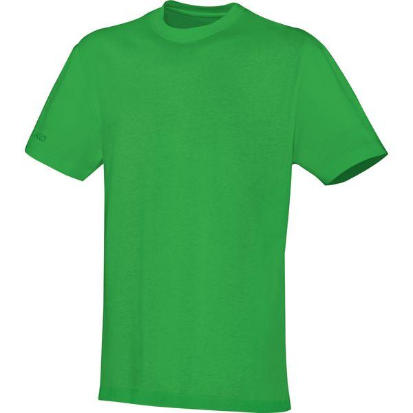 Jako Team T-Shirt Heren - Zachtgroen