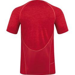 Voorvertoning: Jako Active Basics T-Shirt - Rood Gemeleerd