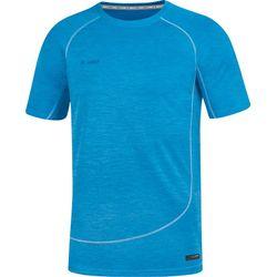 Jako Active Basics T-Shirt Heren - Jako Blauw Gemeleerd