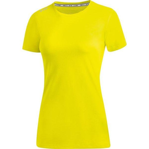 Jako Run 2.0 T-Shirt Dames - Fluogeel