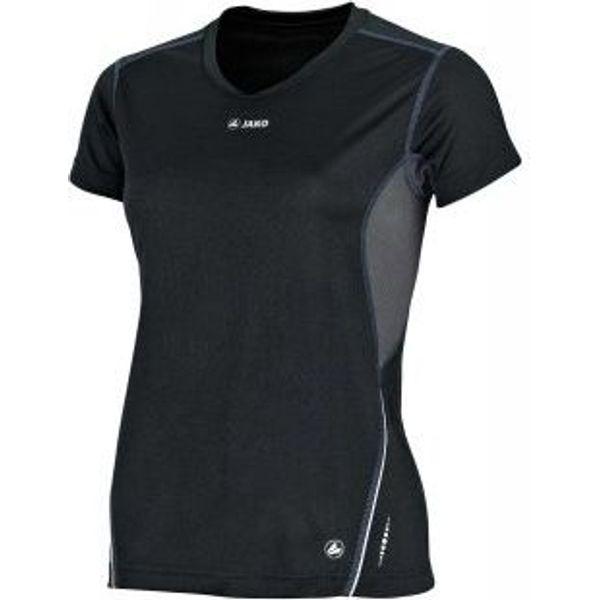 Jako Discover T-Shirt Dames - Zwart / Grijs