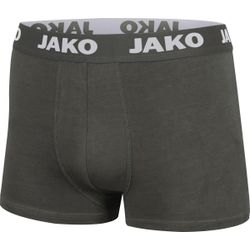 Jako Basic - 2-Pack Boxershort Functioneel - Antraciet