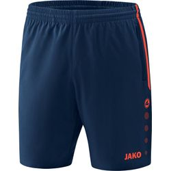 Jako Competition 2.0 Short Dames - Navy / Flame