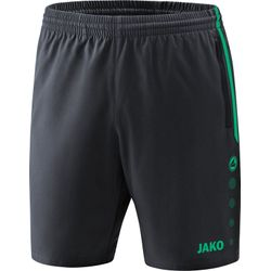 Jako Competition 2.0 Short Dames - Antraciet / Turkoois