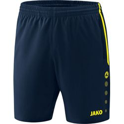 Jako Competition 2.0 Short Dames - Marine / Fluogeel