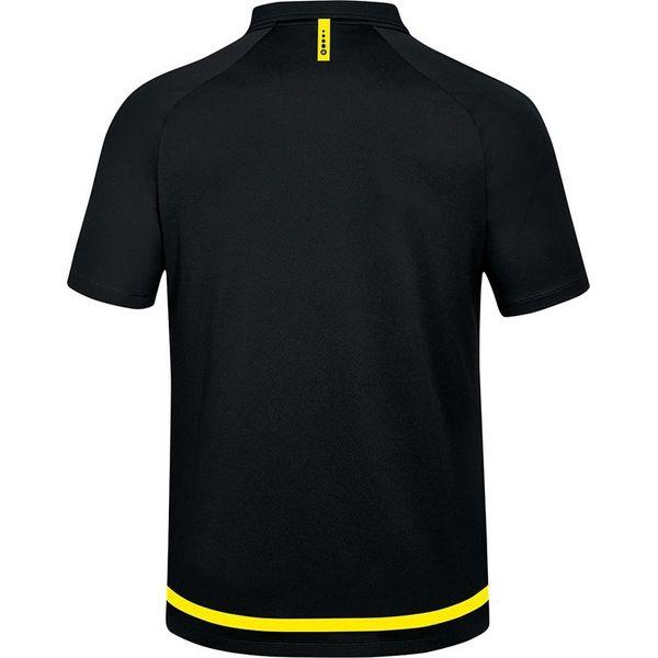 Jako Striker 2.0 Polo - Zwart / Fluogeel