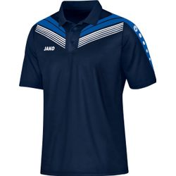 Jako Pro Polo Heren - Marine / Royal / Wit