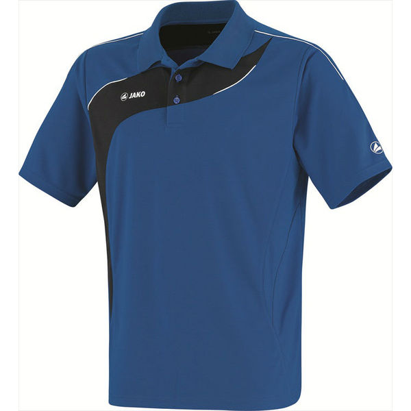 Jako Competition Polo Hommes - Royal / Noir