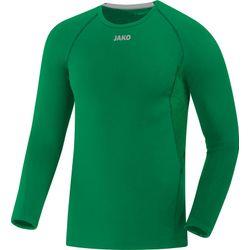 Jako Compression 2.0 Longsleeve Hommes - Vert Sport