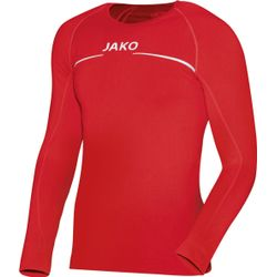Jako Comfort Maillot Manches Longues Hommes - Rouge