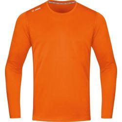 Jako Run 2.0 Longsleeve Hommes - Orange Fluo