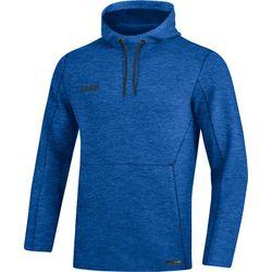Jako Premium Basics Sweater Met Kap Heren - Royal Gemeleerd
