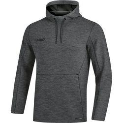Jako Premium Basics Sweater Met Kap - Antraciet Gemeleerd