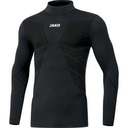 Jako Comfort 2.0 Shirt Opstaande Kraag Kinderen - Zwart