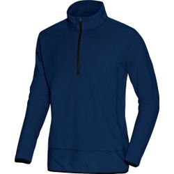 Jako Team Ziptop Fleece - Marine / Zwart