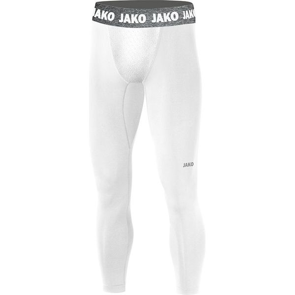 Jako Compression 2.0 Long Tight - Wit