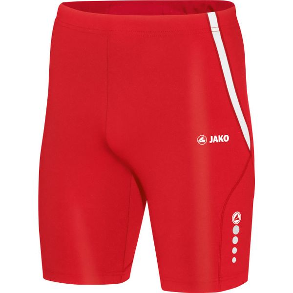 Jako Athletico Short Tight Heren - Rood / Wit